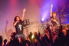Creepy Nuts(R-指定&DJ 松永)(Photo by AZUSA TAKADA)