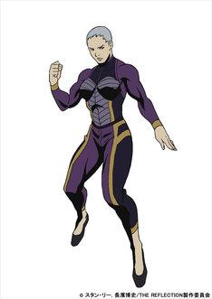 フレイミング・フューリーのキャラクター設定画。