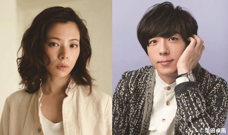 「THE LIMIT OF SLEEPING BEAUTY-リミット・オブ・スリーピング ビューティ」に出演する桜井ユキ(左)と高橋一生(右)。