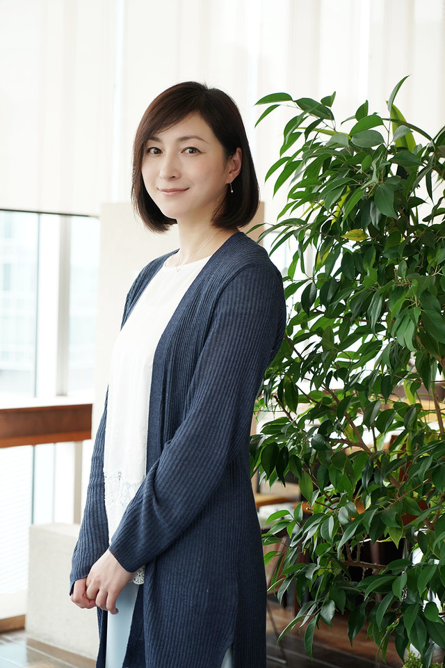 「終わった人」より、広末涼子演じる浜田久里。