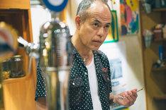 上田誠脚本、戸塚寛人監督「手がビンになった男」より。田中要次。