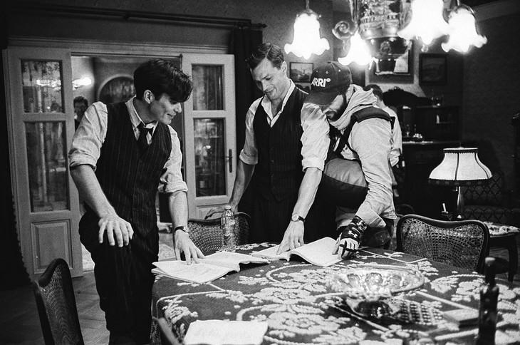 「ハイドリヒを撃て!『ナチの野獣』暗殺作戦」メイキング写真