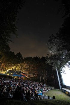 「星空の映画祭」過去のイベントの様子。
