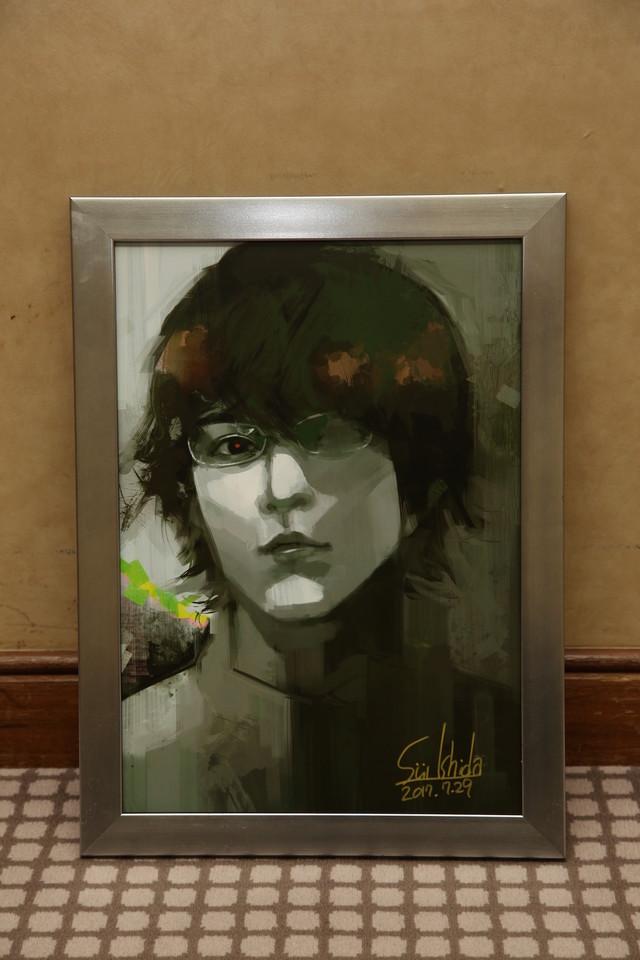 石田スイが描いた、白石隼也演じる西尾錦。