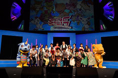 「DIGIMON ADVENTURE FES. 2017」の様子。