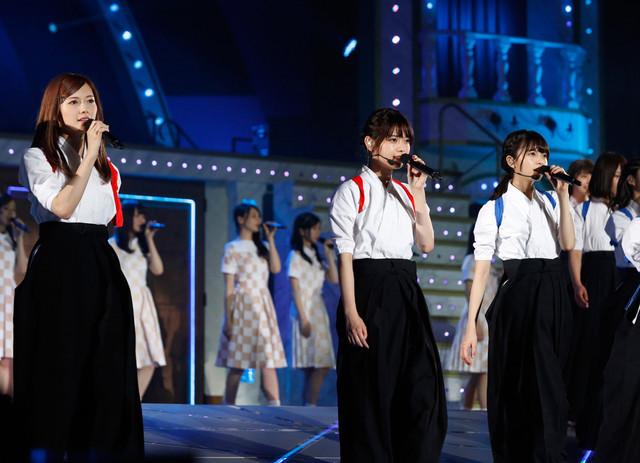 「乃木坂46 真夏の全国ツアー2017」宮城公演の様子。