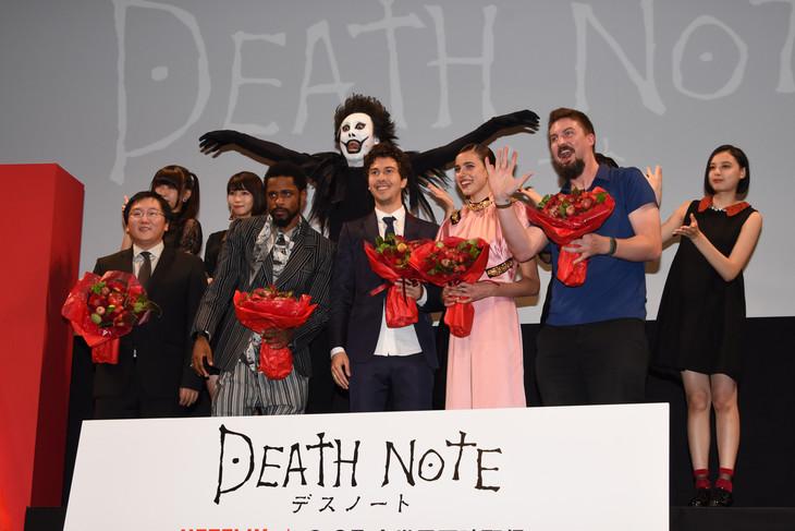 「Death Note/デスノート」ジャパンプレミアの様子。