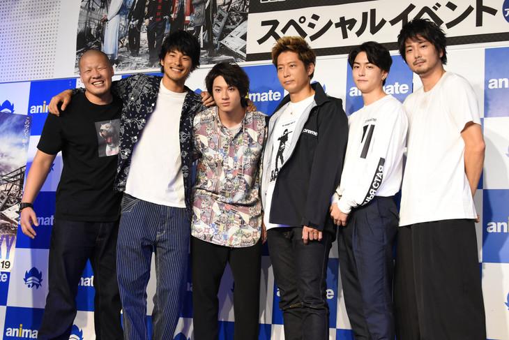 「『HiGH&LOW THE MOVIE 2 / END OF SKY』公開記念スペシャルトークイベント in アニメイト」の様子。