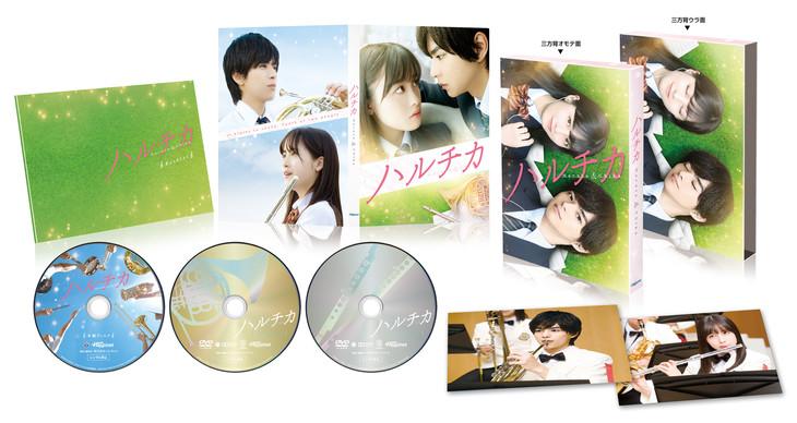 「ハルチカ」豪華版Blu-ray / DVD展開図