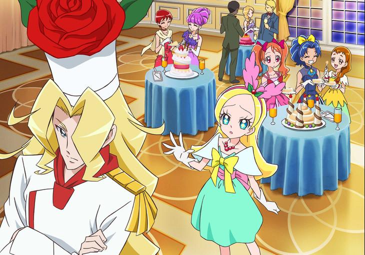 劇場アニメーション「映画キラキラ☆プリキュアアラモード パリッと!想い出のミルフィーユ!」より。
