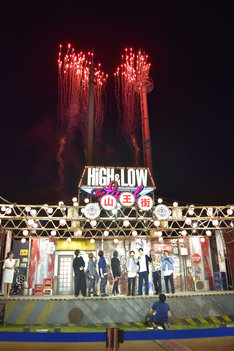 「HiGH&LOW THE LAND」「HiGH&LOW THE MUSEUM」フィナーレイベントの様子。