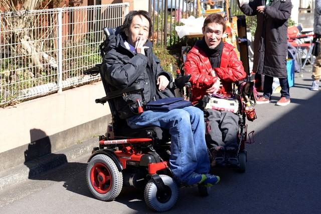 左からリリー・フランキー、熊篠慶彦。