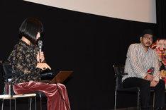 「山戸結希監督が塩田明彦監督に尋ねる『みずみずしさの映画術』」の様子。