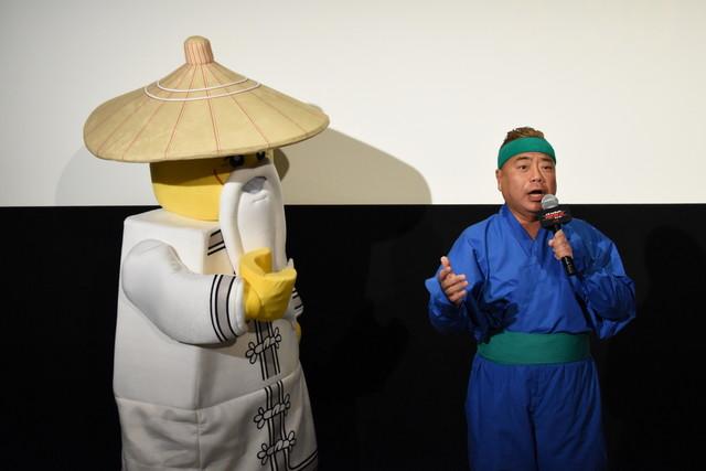 「レゴニンジャゴー ザ・ムービー」イベントの様子。
