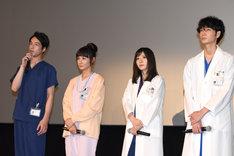 ドラマ「コウノドリ」新シリーズ製作発表会の様子。