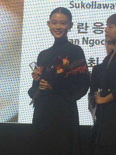 第22回釜山国際映画祭に参加した杉咲花。