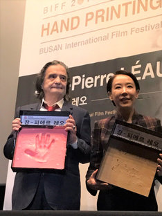 ジャン=ピエール・レオ(左)