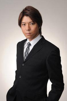 「河童のクゥと夏休み」のトークショーに参加する上川隆也。