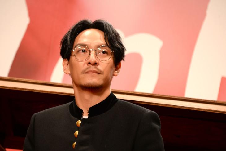 2017年10月27日の「Mr.Long/ミスター・ロン」上映記念トークイベントに登壇したチャン・チェン。