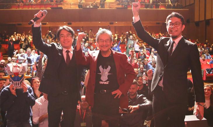 「劇場版 マジンガーZ / INFINITY」ワールドプレミア上映の様子。