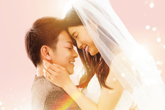 映画「8年越しの花嫁 奇跡の実話」ビジュアル (c)2017「8年越しの花嫁」製作委員会