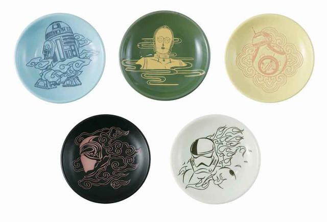 E賞の豆皿(全5種)。
