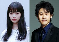 「恋は雨上がりのように」キャスト。左から小松菜奈、大泉洋。 (c)2018映画「恋は雨上がりのように」製作委員会  (c)2014 眉月じゅん/小学館
