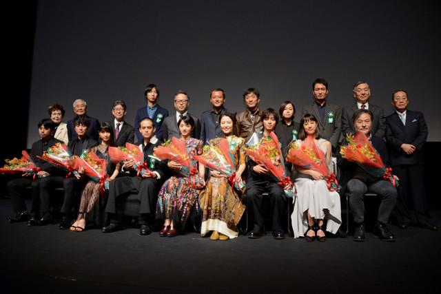 第9回TAMA映画賞授賞式の様子。