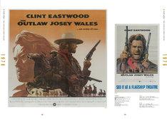 「クリント・イーストウッド ポスター大全」中面より、「アウトロー」。