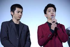 左から山田裕貴、健太郎。