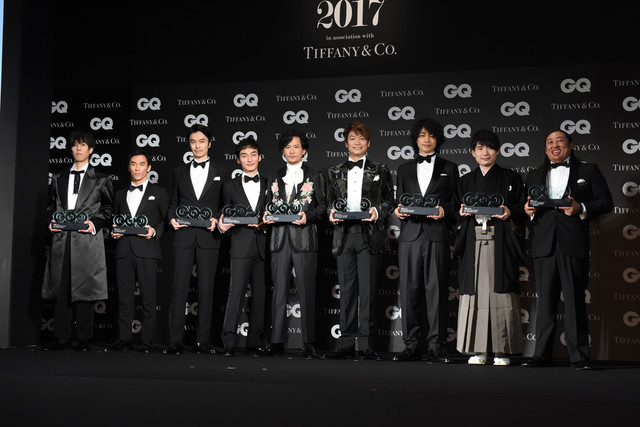 「GQ MEN OF THE YEAR 2017」受賞者