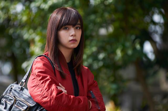 「チェリーボーイズ」より、池田エライザ演じる釈笛子。