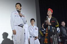 """""""カップル成立""""した山田裕貴(左)と健太郎(右)。"""