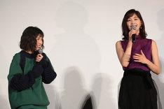 左から松岡茉優、石橋杏奈。
