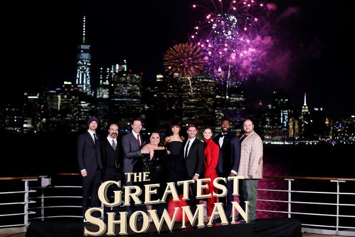 「グレイテスト・ショーマン」ニューヨークプレミアの様子。