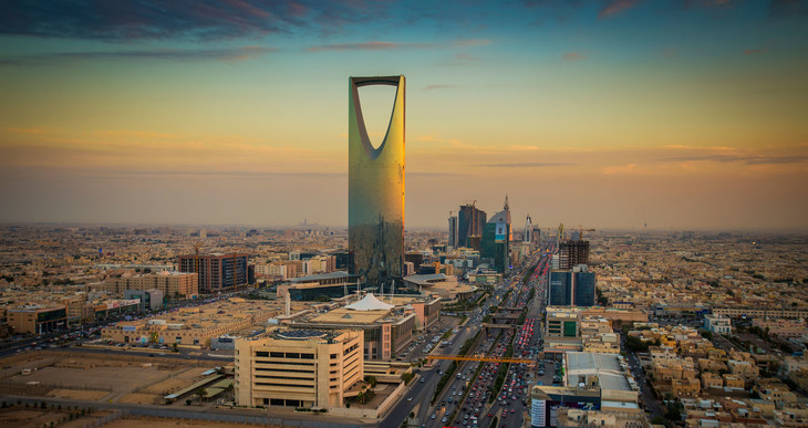 サウジアラビアの首都リヤド。(写真提供:David Kirkland / Newscom / ゼータ イメージ)