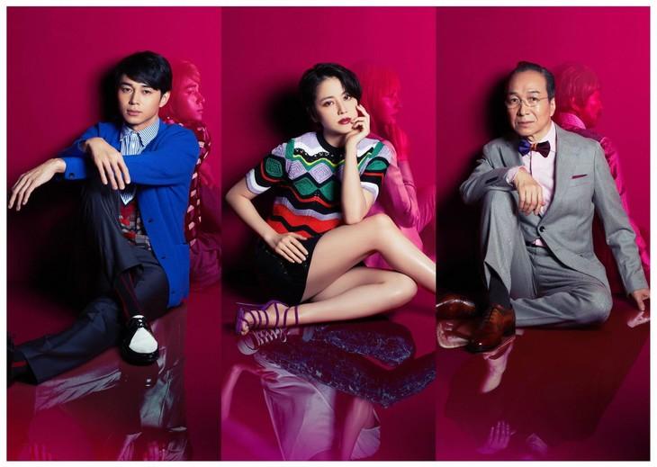 ドラマ「コンフィデンスマンJP」より、左から東出昌大演じるボクちゃん、長澤まさみ演じるダー子、小日向文世演じるリチャード。