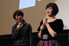 左から横浜聡子、兒玉遥。