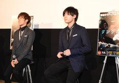 左から小野賢章、増田俊樹。