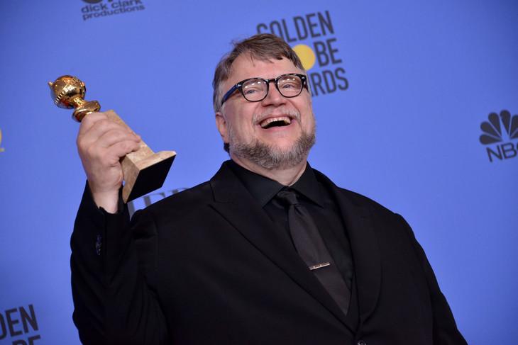 第75回ゴールデングローブ賞にて監督賞を獲得したギレルモ・デル・トロ。(写真提供:Sthanlee Mirador / Sipa USA / Newscom / ゼータ イメージ)