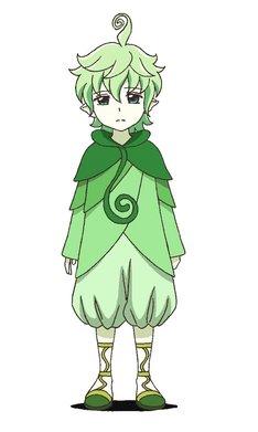 小野賢章が演じるクローバー。