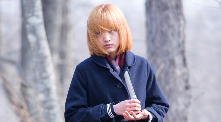小黒妙子役を演じる大谷凜香。