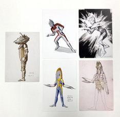 「成田亨画集 [復刻版]BOX」復刊ドットコム購入者特典のポストカード。
