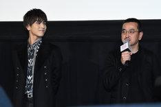 左から岩田剛典、瀧本智行。