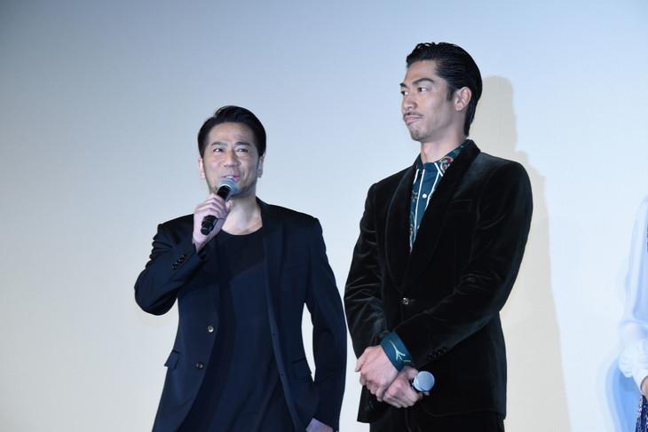 左からEXILE HIRO、AKIRA。