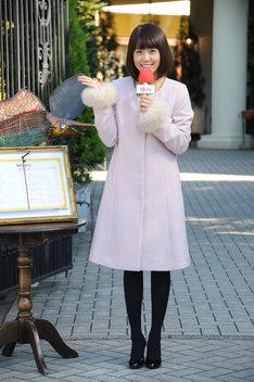 「宇宙戦隊キュウレンジャー」最終話に出演した小林麻耶。