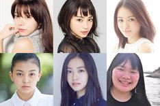 「SUNNY 強い気持ち・強い愛」高校生時代のキャスト。左上から時計回りに池田エライザ、広瀬すず、山本舞香、富田望生、田辺桃子、野田美桜。