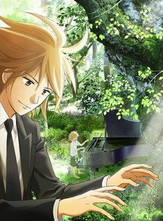 テレビアニメ「ピアノの森」キービジュアル