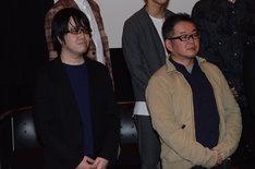 左から奥秀太郎、藤咲淳一。