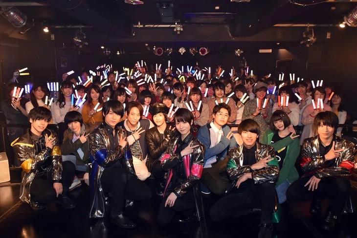 MAG!C☆PRINCE(最前列)